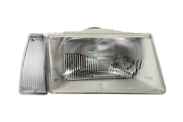 Фара ВАЗ-2108/09 с белым указателем поворота (серый корпус)
